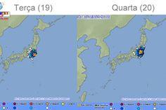 Terremoto de M5 atinge região de Kanto; o terceiro em 4 dias Mais um terremoto atingiu a região de Kanto hoje (20), o terceiro em 4 dias. Não foram emitidos alertas de tsunamis.