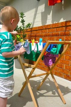 Image result for montessori washing clothes