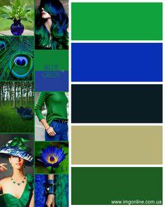 Green and cobalt blue Ce bleu là Colour Combinations Fashion, Colour Blocking Fashion, Color Combinations For Clothes, Fashion Colours, Colorful Fashion, Colour Pallette, Colour Schemes, Color Combos, Color Patterns