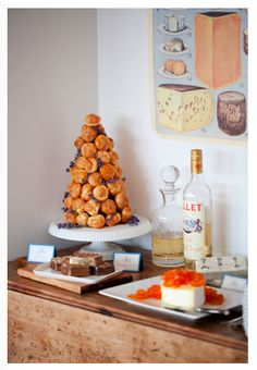 Cakery Friday: Croquembouche {Part II} | http://paperyandcakery.com/2010/08/cakery-friday-croquembouche-part-ii.html