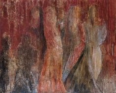 Year: 2003-2004 - Information: Oil on canvas, mixed media painting process, 200 x 160 cm