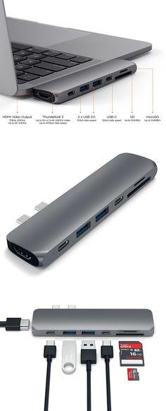 Multi Port USB C Adapter for 2016 MacBook Pro