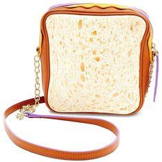 Betsey Johnson Thats My Jam PBJ Crossbody Bag ($78) ❤ liked on Polyvore featuring bags, handbags, shoulder bags, multi, crossbody handbag, betsey johnson crossbody, betsey johnson purses, cross body and white handbags