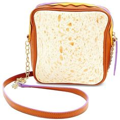 Betsey Johnson Thats My Jam PBJ Crossbody Bag ($78) ❤ liked on Polyvore featuring bags, handbags, shoulder bags, multi, betsey johnson handbags, betsey johnson purses, white shoulder bag, cross body and white crossbody handbags