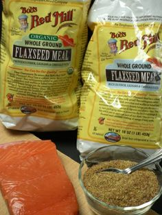 Fish and Flaxseed for Healthy Bones