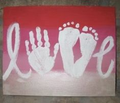Hand and Foot Print Craft Ideas – Mama in Grace day crafts hand and foot 80 Kids Hand & Foot Print Craft Ideas Baby Handprint Crafts, Footprint Crafts, Baby Crafts, Painting For Kids, Art For Kids, Hand Art Kids, Valentine Crafts, Christmas Crafts, Valentines