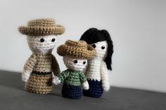 The Walking Dead by Le Royaume des têtes d'épingles. Modèle gratuit.