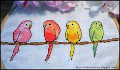 Hafciarka: SAL z papużkami