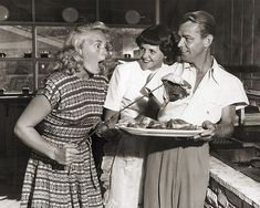 Betty Hutton with Mr & Mrs Allan Ladd