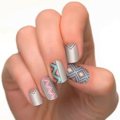 Incoco Nail Polish Strips, Tribal Beats Collection, New Directions