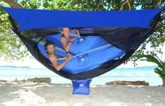 Hammock Bliss Sky Tent 2 - A Revolutionary Tent For 1 or 2 Hammocks Off The Ground - Stay Dry From on Wanelo