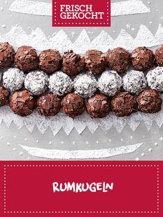 Rumkugeln Breakfast, Food, Ginger Beard, Chocolate Candies, Treats, Cookie Recipes, Weihnachten, Recipes, Meal