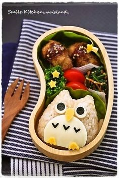 A) Mai's Smile Kitchen – Tokyo MoE Style – Charaben&Charasweet Japanese Food Art, Japanese Lunch, Cute Bento Boxes, Bento Box Lunch, Bento Kids, Food Art For Kids, Kawaii Bento, Bento Recipes, Food Decoration