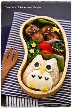 「 レシピブログ連載【フクロウさんのお弁当】 」の画像|Mai's スマイル*キッチン|Ameba (アメーバ)