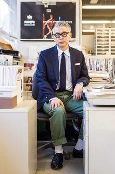 Takahiro Kinoshita in Issue 2018 of Monocle Magazine Preppy Mode, Preppy Style, Urban Fashion, Mens Fashion, Fashion Outfits, Fashion Guide, Popeye Magazine, Estilo Preppy, Ivy Style
