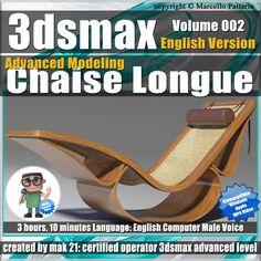 3dsmax Advanced Modeling Chaise Longue Promo