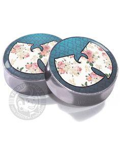 Wu Tang Floral - Image Plugs