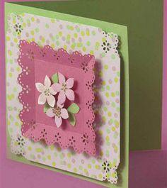 Petals & Lace card.
