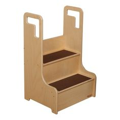Wooden Step Stool - Unassembled $114.99 (40% OFF)  sc 1 st  Pinterest & MY STEP UP STOOL: This sturdy wood step stool has tall side ... islam-shia.org