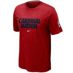#FANATICS  Nike St. Louis Cardinals Cardinal Nation Local T-Shirt - Red