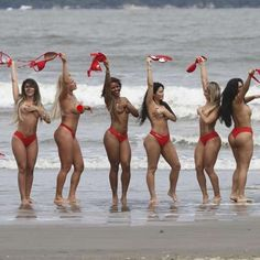 Miss Bumbum en Brasil: impresionante topless de las modelos