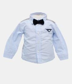 EMC Baby Boy Oxford Shirt - Blue