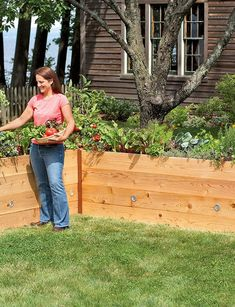 2 of these for my new garden area...Elevated Cedar Raised Bed, 2' x 8'