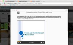 SlideShare - I had never used this before so it was confusing at first, but when I managed to sign in it took seconds to choose and upload the powerpoint I needed. Therefore it was quick and simple to arrange onto my blog.