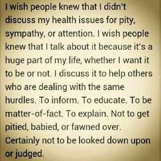 My life constantly judged and looked down on. Worse part it's my family that does it.