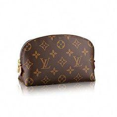 6e14caba1c530 Louis Vuitton Monogram Canvas Cosmetic Pouch M47515  Louisvuittonhandbags