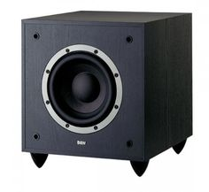 A compact active subwoofer designed specifically to complement the Bowers & Wilkins 300 Series models.