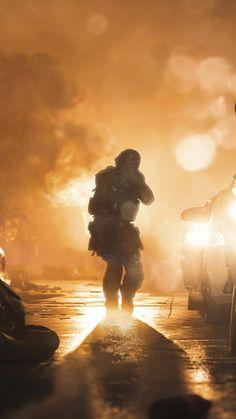 Soldier Battle Call of Duty Modern Warfare 4K Ultra HD Mobile Wallpaper