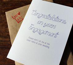 Wedding & Engagement Cards