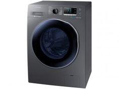 Lava e Seca 9kg Samsung WD90J6410AX/AZ Inox - Bubble Soak 13 Programas de Lavagem