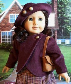 3pc. corduroy coat, hat and shoulder bag | Flickr - Photo Sharing!