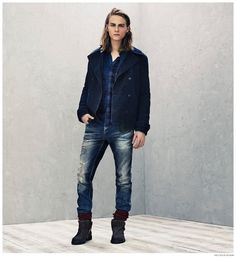 Hilfiger Denim Unveils Everyday Styles for Fall/Winter 2014 Collection image Tommy Hilfiger Mens Denim Fall Winter 2014 Styles 001 800x875