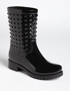 VALENTINO The 'Rockstud' Rain Boot