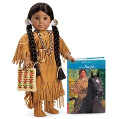 Kaya is short for Kaya'aton', which is her Nez Perce tribal name. She lives in the Pacific Northwest during 1764 and wants to be a great warrior.