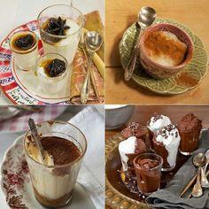 Nada mais charmoso do que servir sobremesa em xícaras ou copinhos. Vale para manjar, arroz doce, tiramisu, musse... Todas essas receitas (e muitas outras), você encontra no Panelinha.