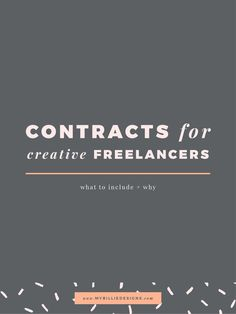 Contracts For Creative Freelancers: What To Include + Why - business marketing design Digital Marketing Strategy, Business Marketing, Inbound Marketing, Business Advice, Business Planning, Online Business, Business Education, Business Management, Business Website