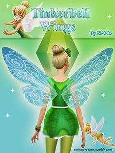 My Sims 4 Blog: Accessories - Wings [X] Downloaded