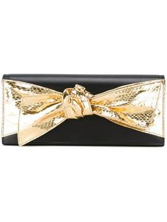 SAINT LAURENT Bow Front Clutch. #saintlaurent #bags #lining #clutch #suede #hand bags #