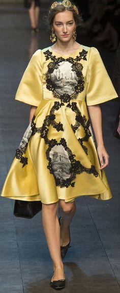 Dolce & Gabbana Ready To Wear Spring 2014