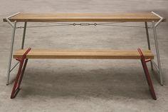 psalt design atlas table and bench
