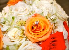 My beautiful flowers and ring
