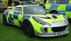 """Sussex Police Lotus Exige 2007 -  this 220bhp lightweight Lotus Exige S was handed over to the Sussex police as a new initiative to help the officers engage with young drivers. """"Rather than sending a standard unit to the scene of a disturbance caused by younger drivers getting together, we want to talk to the younger drivers,"""" says Sergeant Paul Masterson. """"We talk about the car, and their cars. Once the barriers are down, we can talk to them about more serious road safety issues."""""""