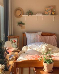 Room Design Bedroom, Room Ideas Bedroom, Bedroom Inspo, Bedroom Decor, Bedroom Inspiration, Dream Rooms, Dream Bedroom, Pretty Room, Aesthetic Room Decor
