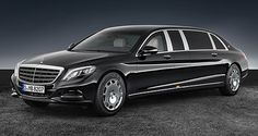 The Mercedes-Maybach S 600 Pullman Guard is truly a special protection vehicle. [Mercedes-Maybach S 600 Mercedes Benz Maybach, Pullman Mercedes, Van Mercedes, Mercedes G Wagon, Mercedes S Class, Lincoln Continental, Cadillac, Mercedes Classic Cars, Black Limousine