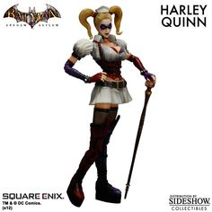 Sideshow Collectibles - Harley Quinn - Arkham Asylum Collectible Figure