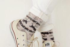 #dahong #socks #angora #winter item